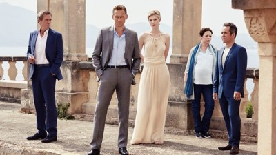 "The Cast of ""The Night Manager"".  Photo copyright BBC."