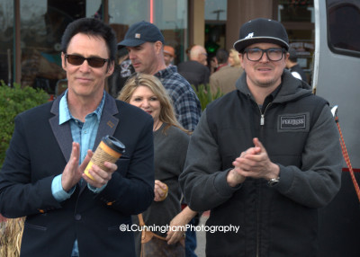 Lance Burton and Zak Bagans were two of the Celebrity Judges for the Car Show.