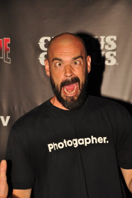 """Aaron Goodwin from """"Ghost Adventures"""".  Photo Copyright Larry Cunningham"""